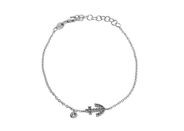 Picture of Anchor  Bracelet with Diamond