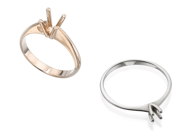 Picture for category Four Prong Solitaire Rings