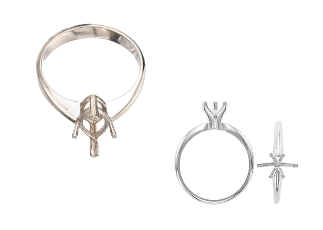 Picture for category Marquise Engagement Rings