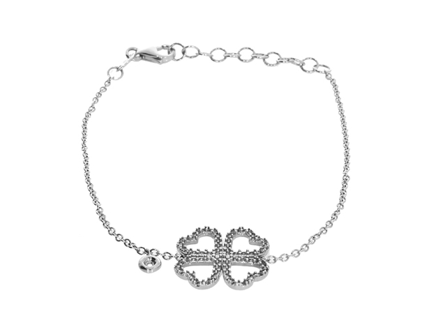 Изображение Flower  Bracelet with Diamond