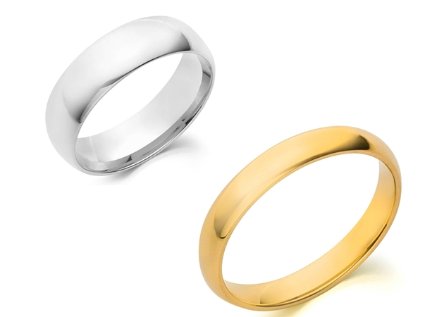 Picture for category Plain Wedding Bands