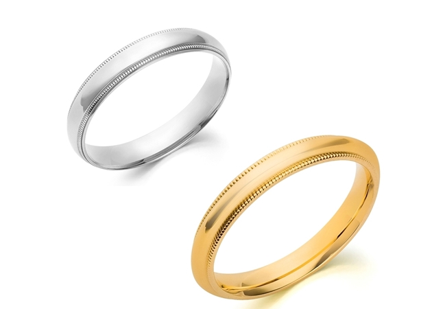 Picture for category Milgrain Wedding Bands