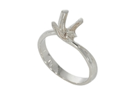 Picture of Four Prong Twist Ring