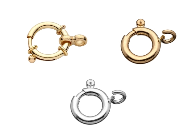 Picture for category Spring Ring Clasp