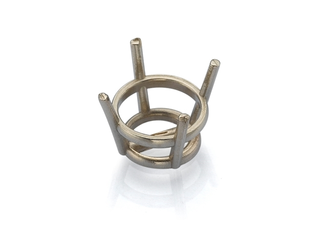 Picture of 4 Prong Diamond Basket Settings