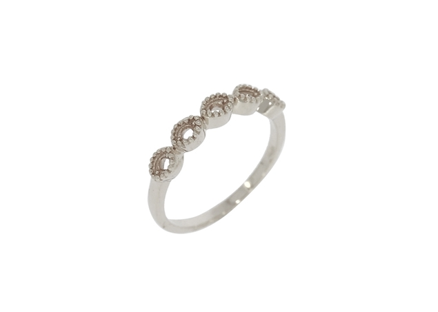 Picture of 5 Stones Ring - Oval