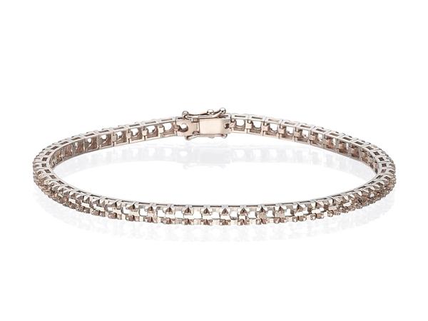 Изображение Diamond Cut Tennis Bracelet
