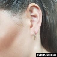 Picture of 20mm Pave Hoop Earrings