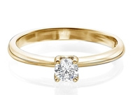 Picture of Micropave Engagement Ring 0.30 CTW