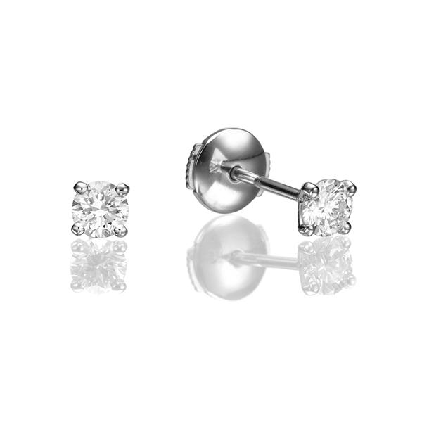 Изображение Martini Stud Earrings 0.50 CTW
