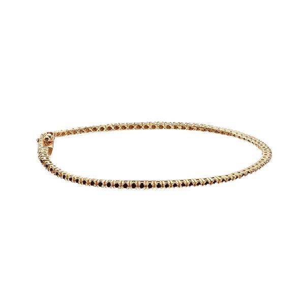 Изображение Tennis Bracelet Black Diamond 1 CT TW