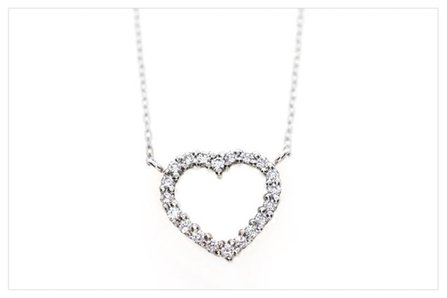 Изображение Heart Necklace 0.10ctw
