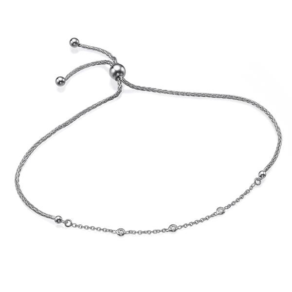 Picture of Adjustable spiga Bracelet 0.05 CTW