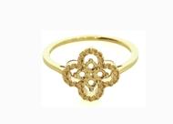 Cloverleaf Ring