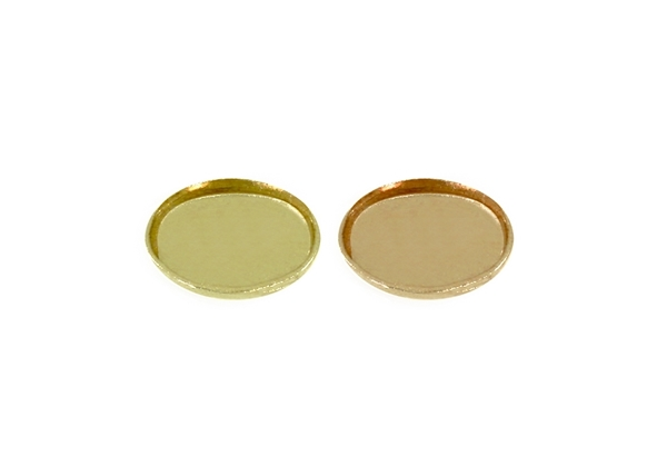 Picture of Oval Bezel Cup-Thickness 0.2mm