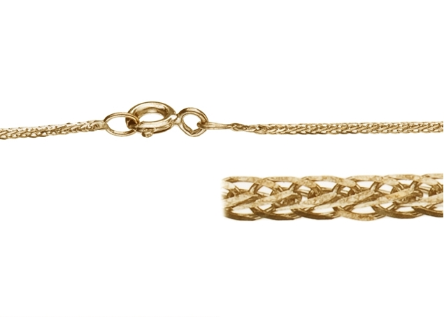 0.8mm Square Spiga Chain