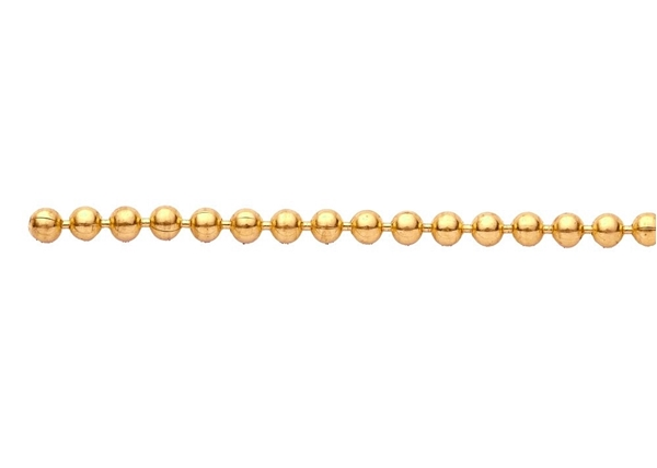 2mm Ball Chain by the Foot