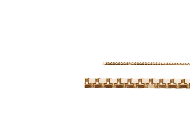 1.4mm Box Chain-by the Foot