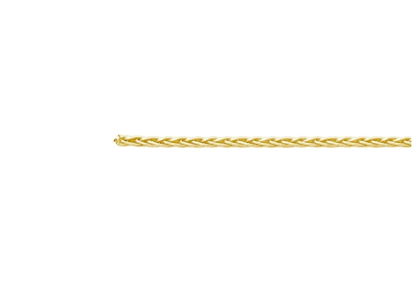 0.7mm Round Wheat Chain-by the Foot