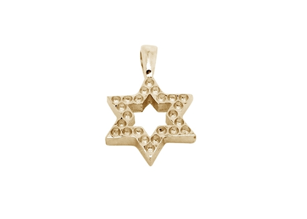 Small Star Of David Pendant For Setting