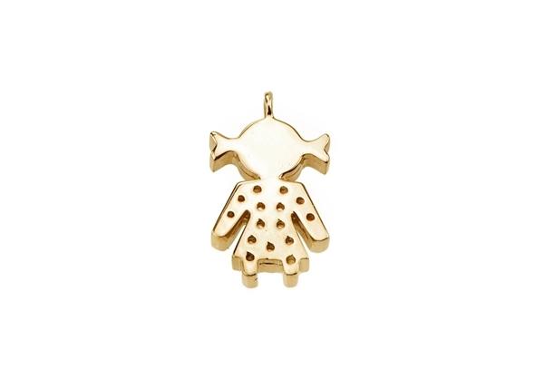 Diamond Infinity Female Pendant
