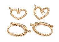 16x10mm Heart Diamond Earrings