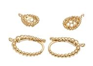 16X10mm Pear Shaped Diamond Earrings