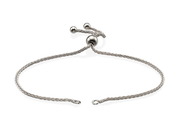 1.3mm Adjustable Spiga Bracelet