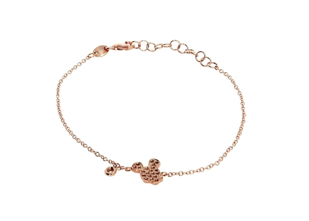 Mickey Mouse Bracelet with Diamond