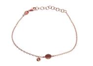 Circel  Bracelet with Diamond