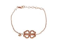 Flower  Bracelet with Diamond