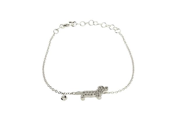 Dog Bracelet with Diamond