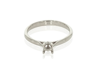 Cathedral Solitaire Rings
