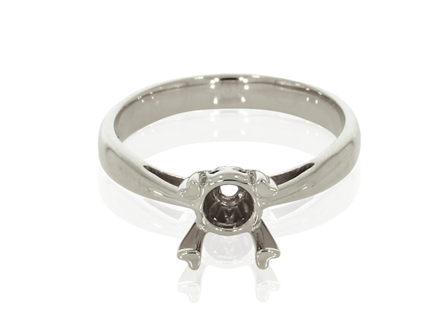 Round Diamond Solitaire Ring Settings