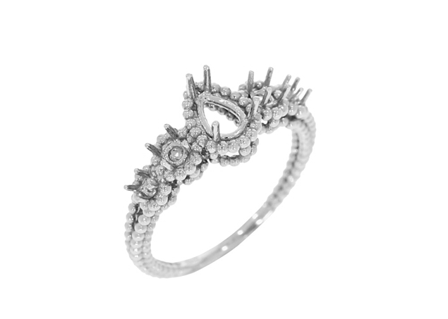 Five Stone Engagement Ring