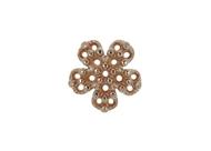 Diamond Flower Pendant