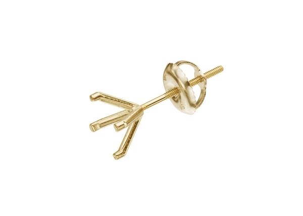 Martini Diamond Stud Earrings