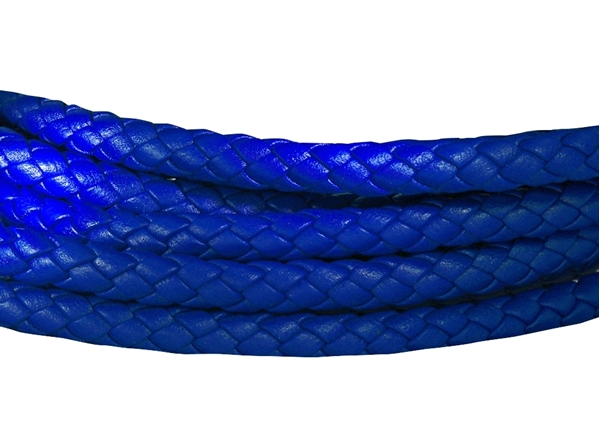 Picture of 6mm Round Braided Nappa  Leather Cord