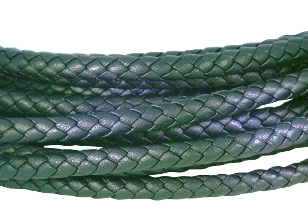 Picture of 5mm Round Braided Leather Cord