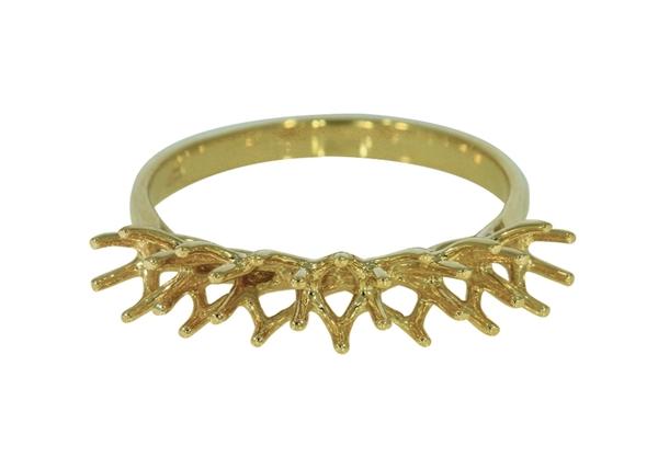 Изображение Diamond Half Eternity Ring 7 Stones
