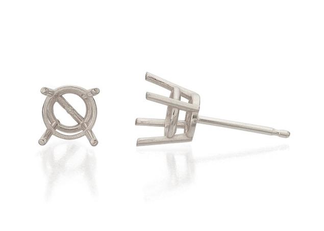 Picture of Stud Diamond Earrings