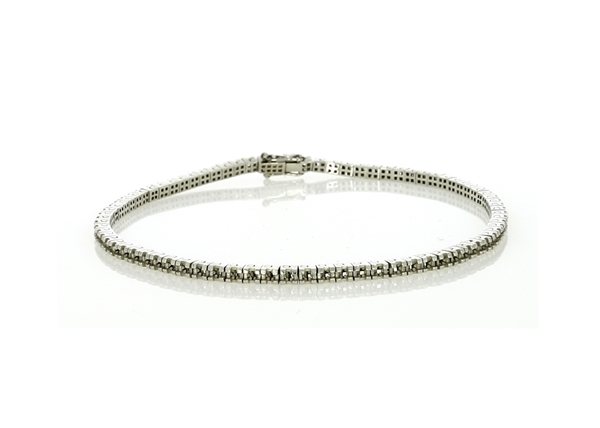 Изображение Princess Cut Shape Tennis Bracelet