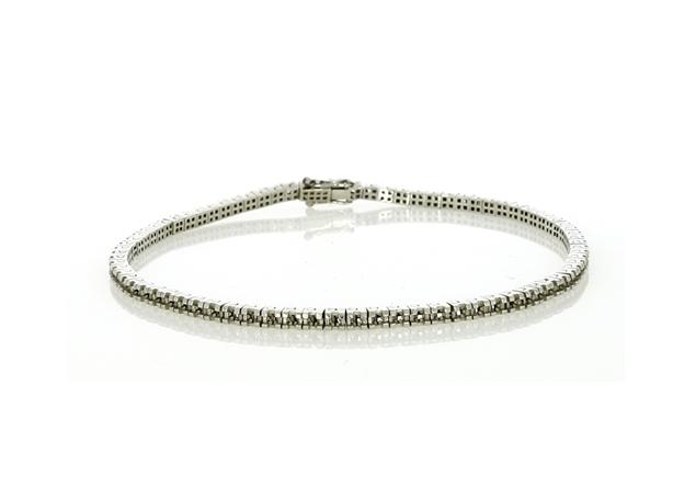 Picture of Princess Cut Shape Tennis Bracelet
