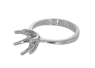 Prong Solitaire Engagement Ring 6