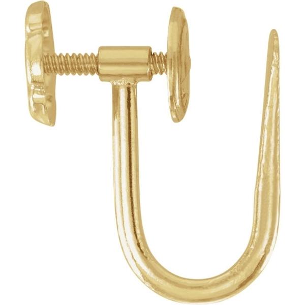Изображение Screw on Clip Back Earring