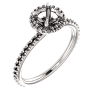 Изображение Halo Style Engagement Ring