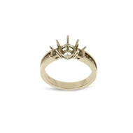 Picture of Three Stone Diamond Ring