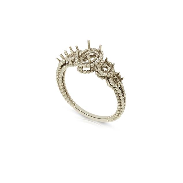 Изображение 5 Stone Engagement Ring
