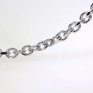 Picture of Anchor Chain by the Foot 5.5x4mm Rodium Plated