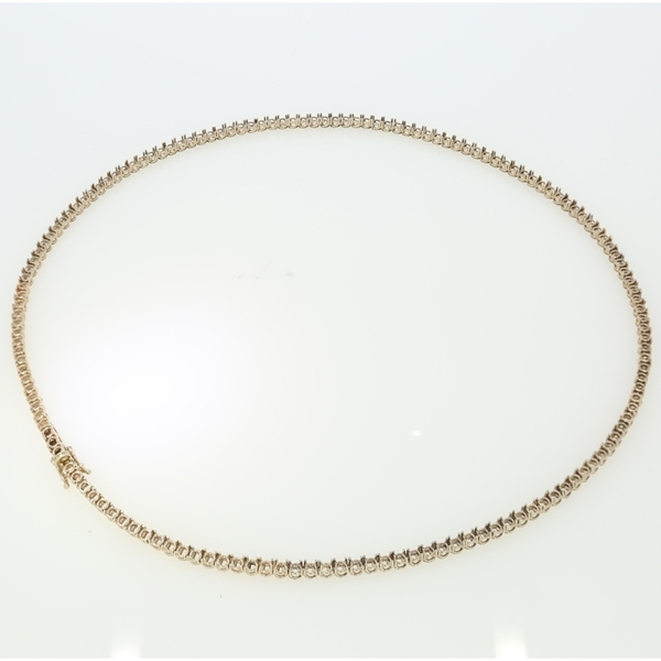 Picture of Degrade Tennis Necklace 42cm